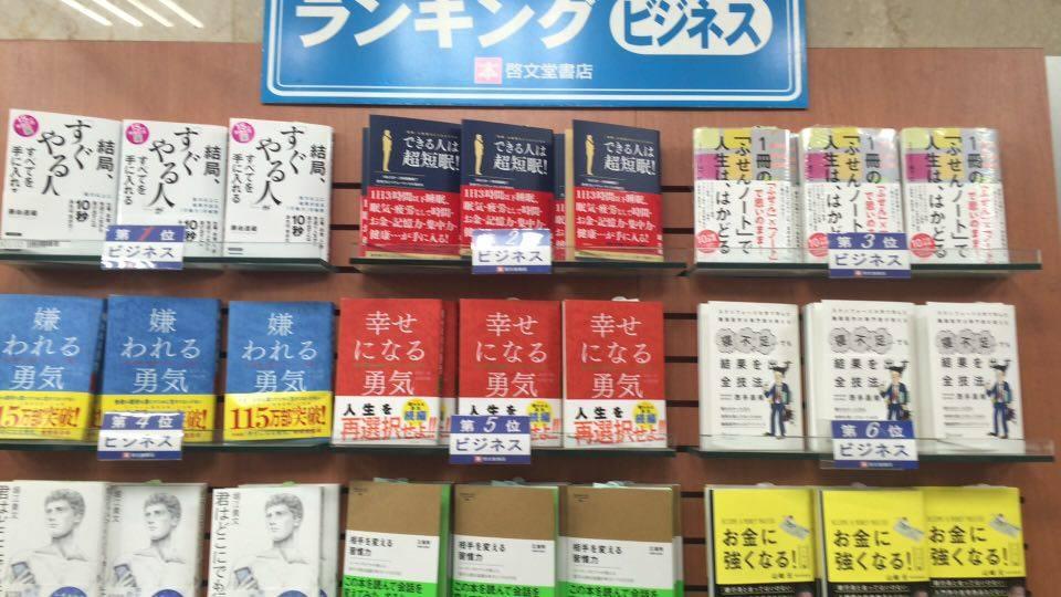 啓文堂渋谷店2位