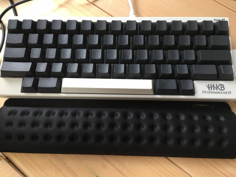 ショートスリーパーとキーボード