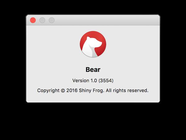 Bearとショートスリーパー
