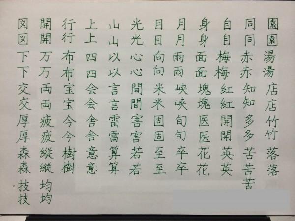短眠の人の漢字
